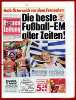 M3-31453 Greece Champion Of Europe [soccer]. KRONEN ZEITUNG [Austria] 5.7.2004 - Boeken, Tijdschriften, Stripverhalen