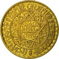 Monnaie, Maroc, 5 Francs, 1365/1946, Paris, ESSAI, SUP+, Aluminum-Bronze - Morocco