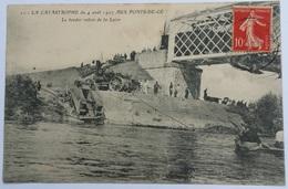 49 023   PONTS DE CE   CATASTROPHE - Les Ponts De Ce