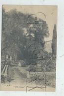 "Villefranche-sur-Mer (06) : Villa ""L'Ermitage"" Prise Du Jardin En 1910( PF. - Villefranche-sur-Mer"