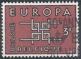 1963 BELGIO USATO EUROPA 3 F - 2 - Europa-CEPT
