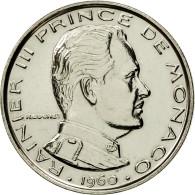 Monnaie, Monaco, Rainier III, Franc, 1960, Paris, ESSAI, FDC, Nickel - Monaco