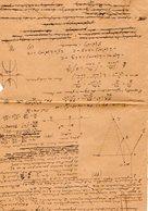 VP12.952 - Franchise Militaire - LE MANS 1917- Génie Militaire - Concours D'admission à L'école Polytechnique 1907 - Documents