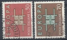 1963 ITALIA USATO EUROPA - 2 - Europa-CEPT