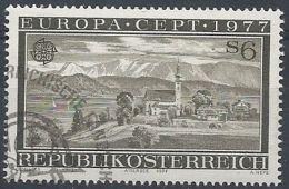 1977 AUSTRIA USATO EUROPA - 1977