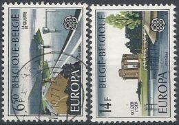 1977 BELGIO USATO EUROPA - Europa-CEPT