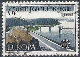 1977 BELGIO USATO EUROPA 6,50 F - Europa-CEPT