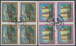 1977 ITALIA USATO EUROPA QUARTINA - Europa-CEPT
