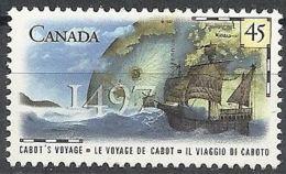 1996 CANADA CONGIUNTA ITALIA CABOTO MNH ** - 4 - Emissioni Congiunte
