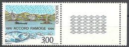 1996 MONACO CONGIUNTA ITALIA RAMOGE MNH ** - Emissioni Congiunte