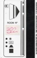 HOTEL-ROOM KEY CARD-ITALIA-BUCCINASCO MI - Chiavi Elettroniche Di Alberghi