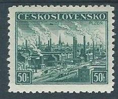 1938 CECOSLOVACCHIA ESPOSIZIONE FILATELICA PILSEN MH * - CZ010 - Cecoslovacchia