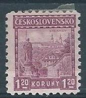 1926 CECOSLOVACCHIA CASTELLI 1,20 K MH * - CZ019 - Cecoslovacchia