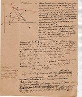 VP12.953 - MILITARIA - Franchise Militaire - LE MANS 1916 / 17 ? - Génie Militaire - Problème ......... - Documents