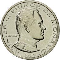 Monnaie, Monaco, Rainier III, 1/2 Franc, 1965, Paris, ESSAI, SPL, Nickel - Monaco
