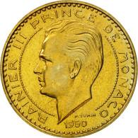 Monnaie, Monaco, Rainier III, 20 Francs, 1950, Paris, ESSAI, SUP+ - Monaco