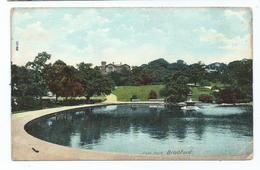 Bradford  Postcard Peel Park Posted 1905 Bradford  Squared Circle No.2 - Bradford