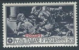 1930 EGEO PISCOPI FERRUCCI 50 CENT MH * - RR13576-2 - Egeo (Piscopi)