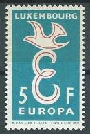1958 EUROPA LUSSEMBURGO 5 F MH * - EV - Europa-CEPT