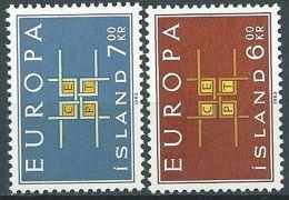 1963 EUROPA ISLANDA MH * - EV - Europa-CEPT