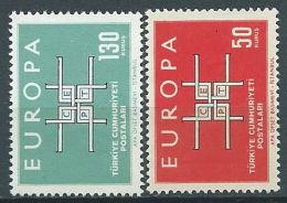 1963 EUROPA TURCHIA MH * - EV - Europa-CEPT
