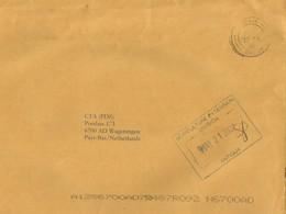 Antigua 2002 Agricultural Extension Division Official Unfranked Cover - Antigua En Barbuda (1981-...)