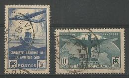 Traversée Aerienne De L'atlantique Sud Yt 320-321 - France