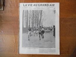 LA VIE AU GRAND AIR N°333 DU 26 JANVIER 1905 LE CROSS-COUNTRY INTERNATIONAL,DANS LES SABLES DE L'ALGERIE,A.C. MACDONALD - Livres, BD, Revues