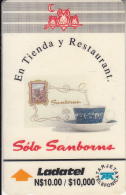 MEXICO(GPT) - Sanborns/Taza Con Cafe, CN : 16MEXB, Used - Mexico