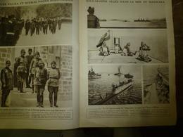 1916 LE MIROIR:Sous-marin E-12 à Moudros (Grèce);Hartmannswillerkopf;Israèlites Serbes,syriens à Ajaccio;Leskovatz;etc - Revues & Journaux
