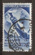 1952 ITALIA USATO OLTREMARE - RR5517-2 - 6. 1946-.. República