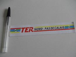 Autocollant - SNCF - Région NORD PAS DE CALAIS - TER - Autocollants