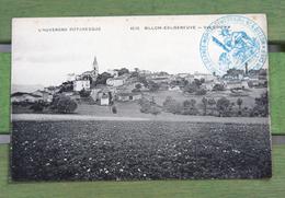 CPA Guerre 14 Marcophilie Hôpital Temporaire. Billom-Egliseneuve. Franchise Postale - Postmark Collection (Covers)