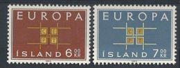1963 EUROPA ISLANDA MH * - EU013 - Europa-CEPT