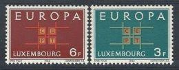 1963 EUROPA LUSSEMBURGO MH * - EU012 - Europa-CEPT
