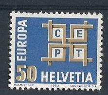 1963 EUROPA SVIZZERA MH * - EU014 - Europa-CEPT