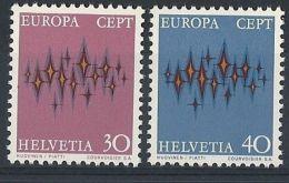 1972 EUROPA SVIZZERA MNH ** - EU050 - Europa-CEPT