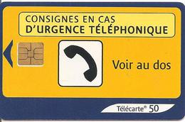 TC°-PUBLIC-F1274A-50U-SO3-04/03-URGENCE 2-UTILISE-TBE - 2003