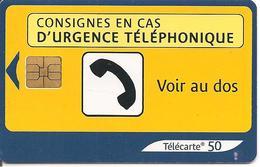 TC°-PUBLIC-F1274C-50U-SO3-05/03-URGENCE 2-UTILISE-TBE - France