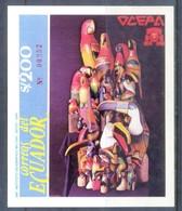 K141- Ecuador 1990. Handicrafts OCEPA 1990. Commercial Organization Of Handicrafts. - Ecuador
