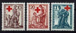 Liechtenstein 1945 // Mi. 244/246 ** (027..624) - Liechtenstein