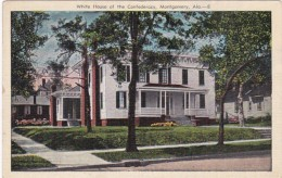 Alabama Montgomery White House Of The Confederacy - Montgomery