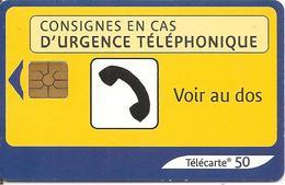 TC°-PUBLIC-F1274E-50U-GEM2-10/03-URGENCE 2-UTILISE-TBE - France