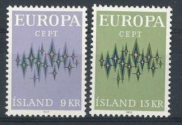 1972 EUROPA ISLANDA MNH ** - EU047 - 1972