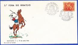 Cover FDC - 3ª Feira Do Ribatejo, Santarèm 1956 - Cartas