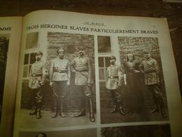 1916 LE MIROIR:Héroïnes Slaves(Jivka Tersitch,Miliouka;Kala-Karis;Athènes;Macédoine;Lac Ostrovo;Irlandais à Pozières;etc - Riviste & Giornali
