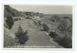 Postcard Isle Of Wight Western Cliffs Putting Green Rp Unused - Ventnor