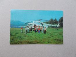 To Teletskoye Lake - By Helicopter. - Elicotteri