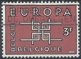 1963 BELGIO USATO EUROPA 3 F - 11 - Europa-CEPT
