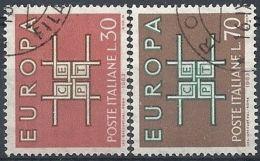 1963 ITALIA USATO EUROPA - Europa-CEPT